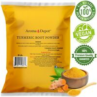 Tumeric Root Powder 5lbs. Raw Curcuma longa 5 Libras Yellow Turmeric Curcumin