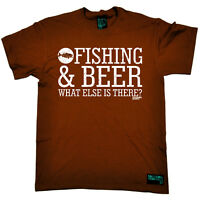 Fishing Fishing Beer angling fish rod reel funny top Birthday tee tshirt T-SHIRT