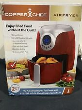 Copper Chef 2 Quart Power AirFryer-Red