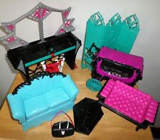 Lot Monster High Furniture Sofas Room Divider Vanity Chair 8 Pieces Mattel