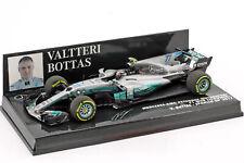 Valtteri Bottas Mercedes F1 W08 Eq Poder + #77 España Gp Fórmula 1 2017 1:43