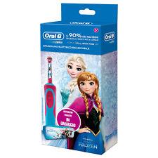 Oral-B Frozen Spazzolino Elettrico per Bambine + Astuccio
