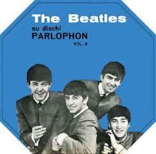 THE BEATLES-su dischi PARLOPHONE VOL 2 Blu Vinile LP ITALIAN singoli NUOVO Nuovo di zecca