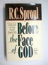 Before The Face Of God, Book 2: Luke (1993) R. C. Sproul Theology HCDJ Like-NEW