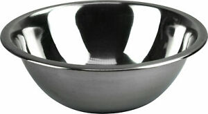 Mixing Bowl Heavy Duty Stainless Steel Deep Salad Serving 22 cm - 40 cm