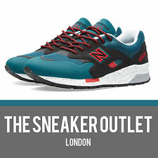 Homme New Balance 1600 DK elite taille uk 7 baskets // teal black maroon 998 1500