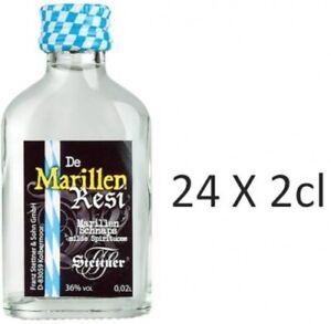 Marillen Schnaps kleiner Flasche 24 x 2cl  35%vol.Acl.