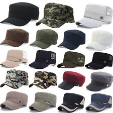 Classic Army Plain Camo Hat Cadet Combat Field Military Cap Style Cadet Baseball