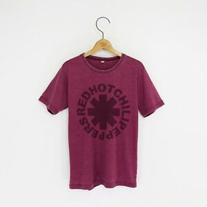 Men's 'Red Hot Chili Peppers' Distressed Vintage-Style Rock T-Shirt