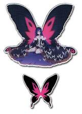 **Legit** Accel World Black King Kuroyukihime & Butterfly Anime Pin Set #50074