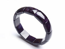 Natural Purple Sugilite South Africa Rectangle Beads Bracelet AAA 59mm