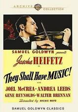 NEW--They Shall Have Music (DVD, 1939, WARNER ARCHIVES)