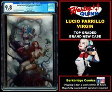 🔥 HARLEY QUINN 25th ANNIVERSARY SPECIAL 1 CGC 9.8 PARRILLO VIRGIN 🔥 POISON IVY