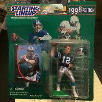 F57 1998 KERRY COLLINS PANTHERS starting Line Up New In Box NIB FREE SHIPPING