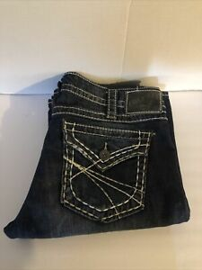 Silver Jeans Co. Pioneer Boot Women's Juniors jeans size 31/34