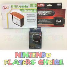 1 Expansion Pack Pak For Nintendo 64 Ram Expander Brand New USA Seller Fast Ship