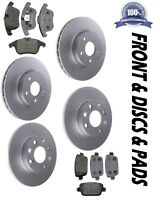 Front & Rear Brake Discs & Pads Fits TOYOTA MR2 1.8 VVTi 1999-2006