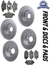 Front & Rear Brake Discs & Pads Fits Mondeo MK4 2007-15 1.6 1.8 2.0 2.2 2.3 TDCi