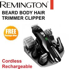 REMINGTON Beard Body Shaver Trimmer Clipper Rechargeable Mens Electric Grooming