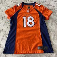 NFL NikeOn Field Peyton Manning Denver Broncos Jersey Women's Large Stitched