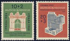 BUND 1953, MiNr. 171-172, 171-72, tadellos postfrisch, gepr. Schlegel, Mi. 50,-