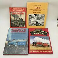 BUNDLE OF RAILWAY TRAIN HARDBACK ILLUSTRATED BOOKS