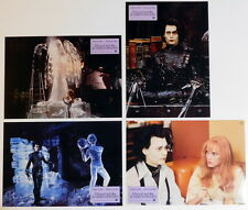 Johnny Depp EDWARD SCISSORHANDS lobby cards 16 original vintage stills 1991