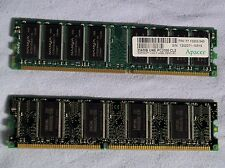 RAM Computer Memory Cards – 256mb each (set of 2)
