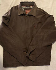 Marlboro Classics Mens Jacket Zip Up Front Brown collard Size XL