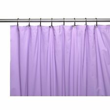 Carnation 8 Gauge Vinyl Shower Curtain Liner Weighted Grommets Lilac 72x72