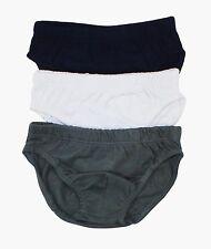 3er Set Marken Unterhose für Herren Slip Unterwäsche Größe 5 6 7 8 Herrenslip
