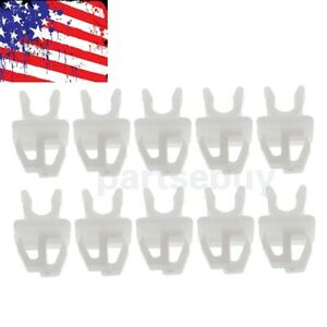 10pc New Hood Support Prop Rod Clip Holder 53452-90351 For Toyota 4Runner Tacoma