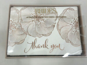 Gartner Studios Brides Thank You Cards (40 count)
