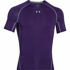 Under Armour Mens L/large HeatGear Armour short Sleeve/Ss Compression Shirt