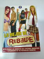 RBD REBELDE Lo Mejor de Rebelde - 2 x DVD Español Region 2
