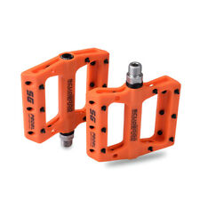 """9/16"""" Cycling MTB Mountain Road Bike Pedals Flat Platform BMX Bicycle Pedals"""
