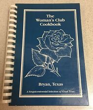 The Woman's Club Cookbook, Texas Sesquicentennial Anniversary 1985-1986