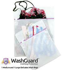 2 Lingerie Bags for Laundry Protect Delicate Clothes & Underwear - by WashGuard