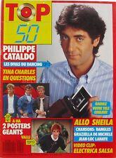 Top 50 n°60 - 1987 - Philippe Cataldo - Sheila - Jean Luc Lahaye - De Michele