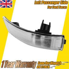 Wing Mirror Indicator Light Lens Cover Ford Focus 2008-16 UK Passenger Side NS