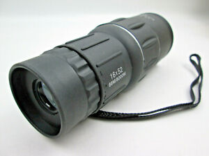 16x52 Monocular Spotting Scope Single Tube Telescope 66m / 8000m Preowned
