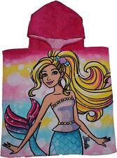 Barbie and Friends Mermaid Childrens Hooded Poncho by besttrend