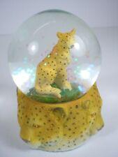 Snow Ball Snowglobe Cheetah, Africa Animal Collection, Glitter Ball