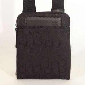 Calvin klein Bag NEW Black VOYAGER BODY BAG Shoulder/Messenger mini Bag