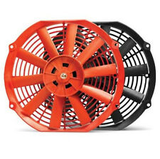 "BLOX RACING 10"" SLIM RADIATOR FAN RED 92-00 CIVIC EG EK / 94-01 INTEGRA DA DC"