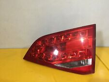 AUDI A4 B8 4 DOOR SALOON LED OFFSIDE REAR INNER TAIL LIGHT DRIVERS LAMP