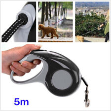 5M Nylon Automatic Retractable Pet Dog Cat Leash Traction Rope Lead Chain Rope