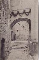 Abbaye Del Mont st Michel Foto Neurdein Vintage Albumina Ca 1880