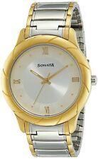 Sonata Wedding Collection Analog Silver Dial Men's Watch -NL7125BM01