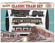 Classic Train Set Retro Large Battery Operated Toy With Sounds Lights Headlights